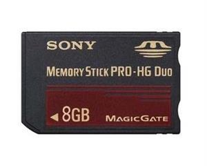 SONY Memory Stick PRO-HG Duo For Xbox PS3 8GB